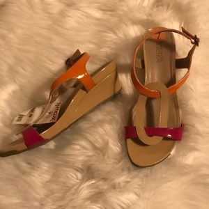 Kenneth Cole reaction wedge sandals size 7